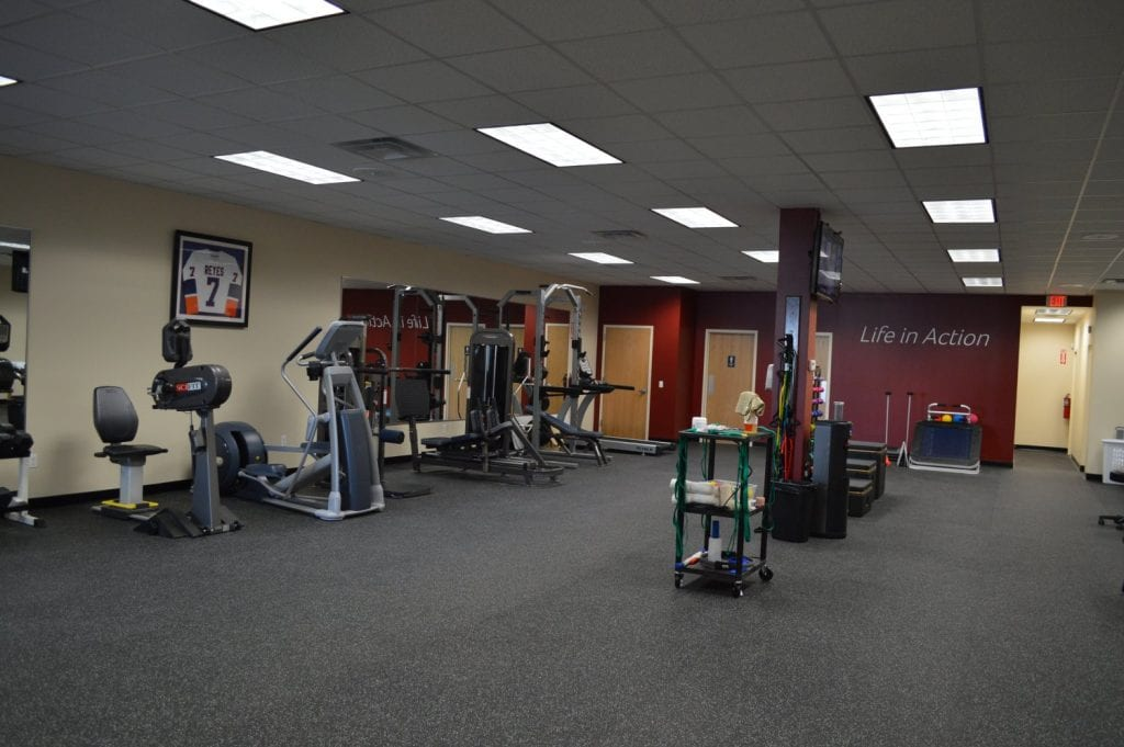 Here is a photo of some of the physical therapy equipment we use at our clinic in Baldwin, New York.
