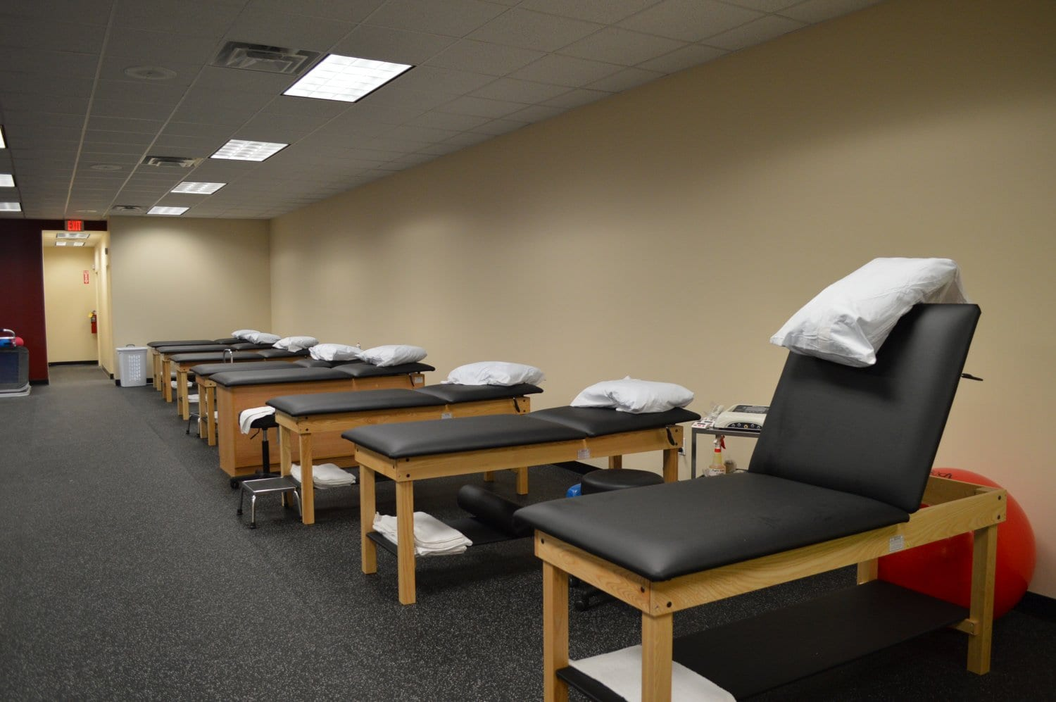 Here is an image of the stretch beds we use for physical therapy at our clinic in Baldwin, New York.