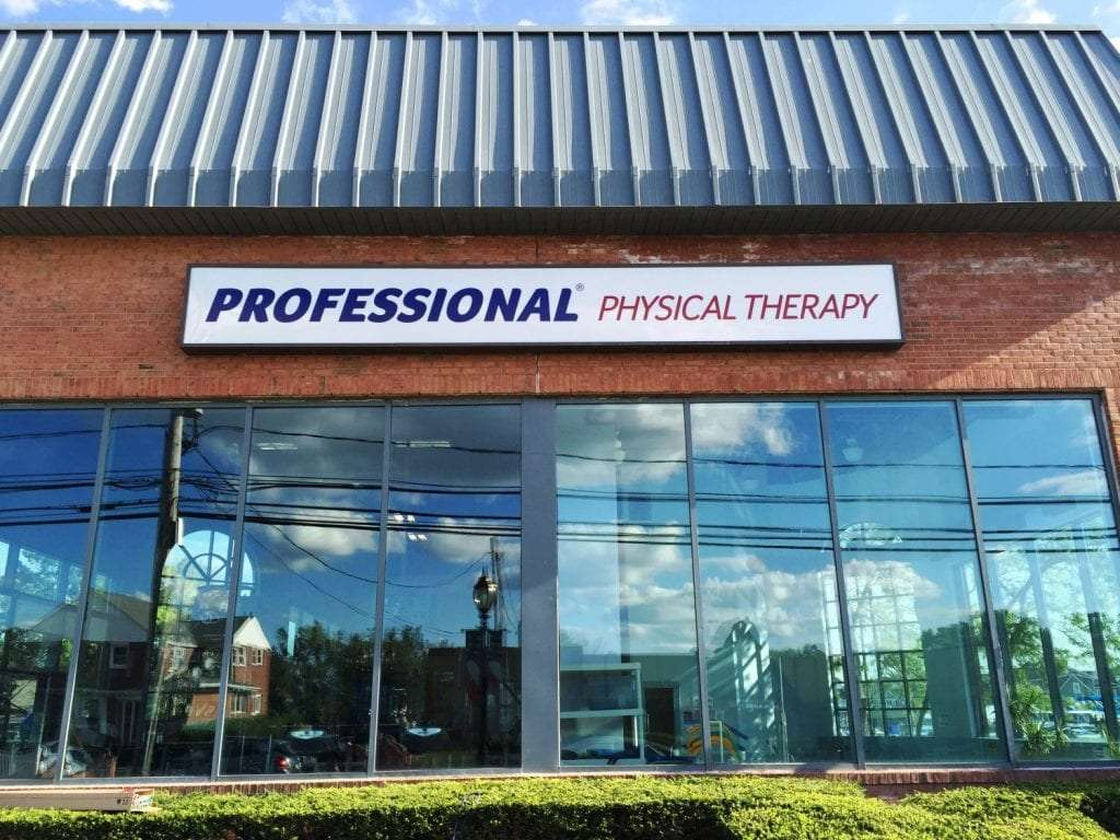 An image of the outside front of our physical therapy clinic in Copiague, New York.