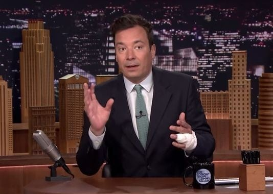 Late Night Host Jimmy Fallon Almost Loses Finger