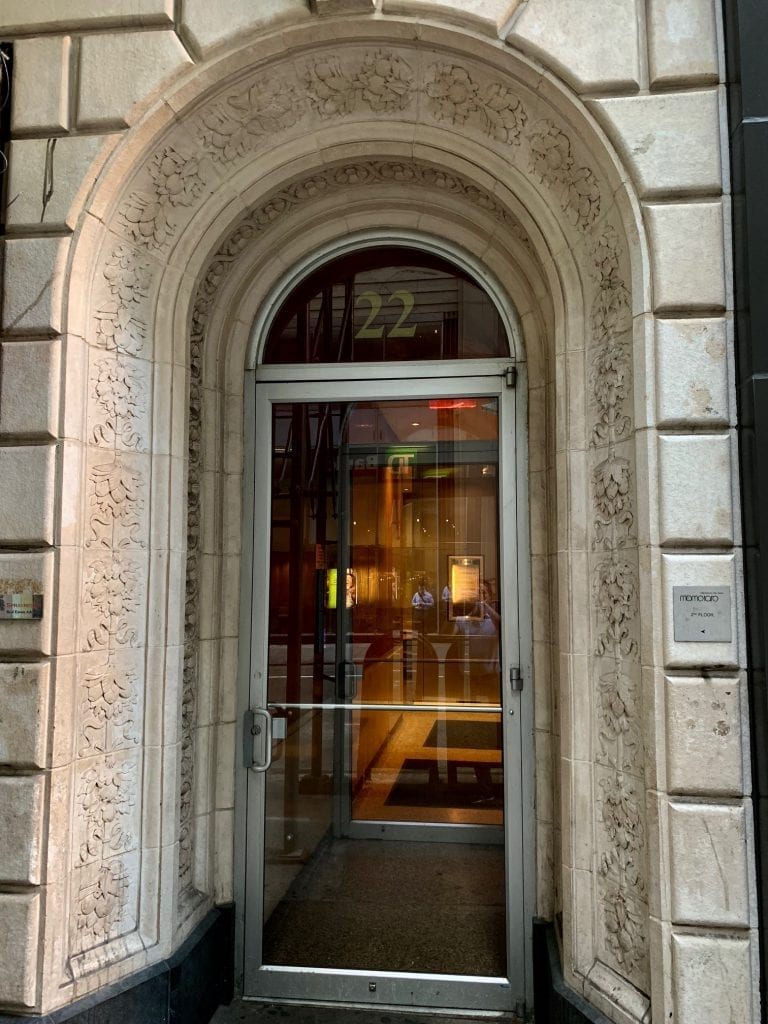 An image of the entrance to our physical therapy clinic in Madison Avenue, New York in Manhattan at Midtown East.