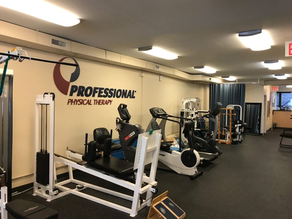 An image of our physical therapy equipment at our clinic in Madison Avenue, New York in Manhattan at Midtown East.