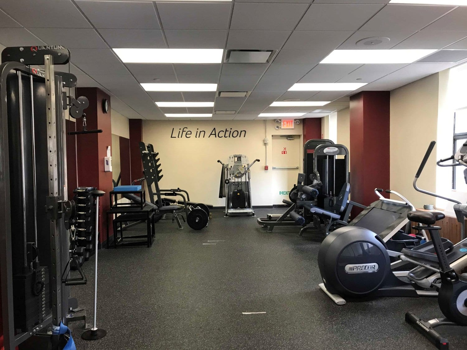 A photo of exercise equipment used for physical therapy at our clinic in East Murray Hill, Manhattan, New York.