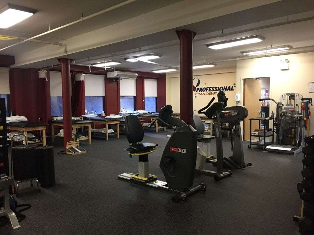 An image of the interior of our physical therapy clinic in Manhattan at Upper East Side on 87th st.