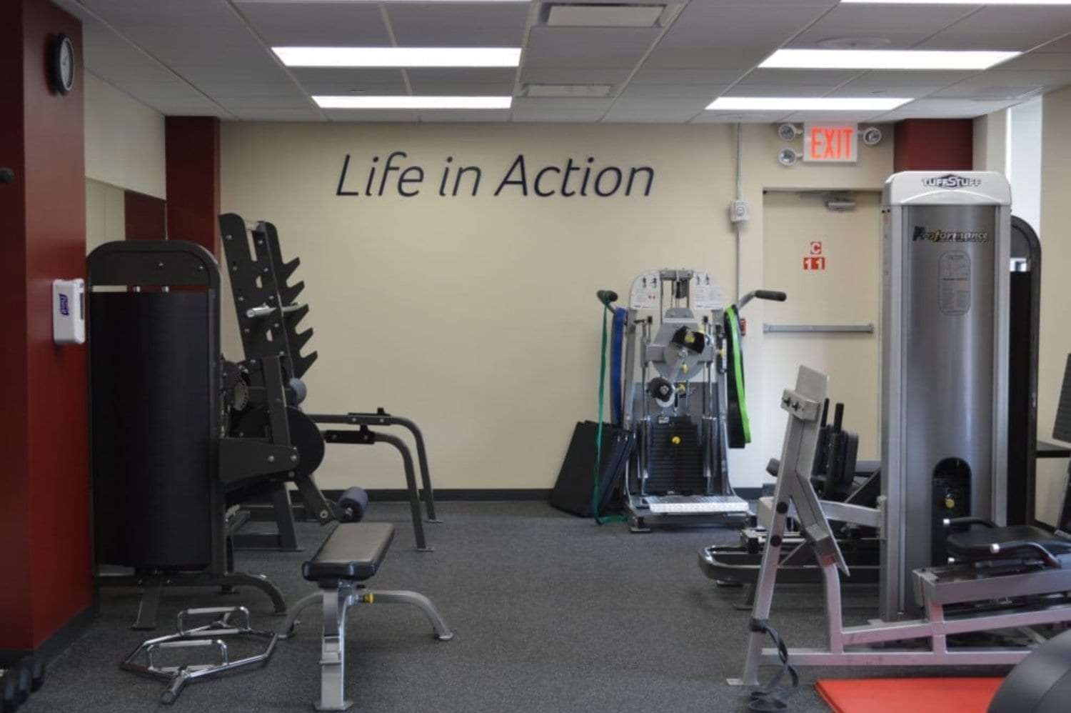 A photo of the equipment in our physical therapy clinic in Murray Hill, Manhattan, New York City.