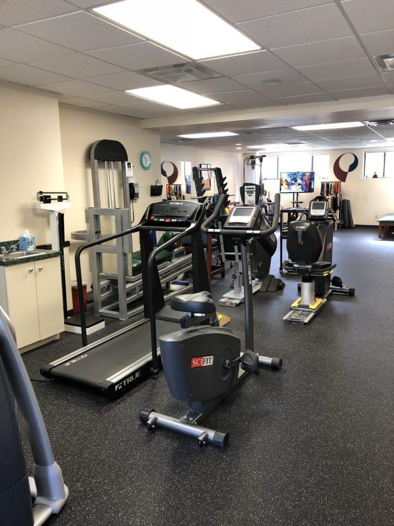 This image is of some of the equipment used in our physical therapy clinic in Williston Park in Long Island NY.