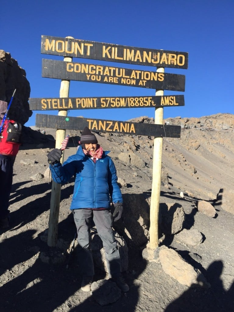 Kilimanjaro wouldn't have happened without you!