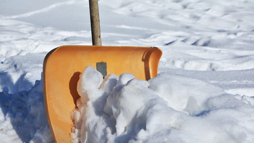 Relieve Soreness After Shoveling