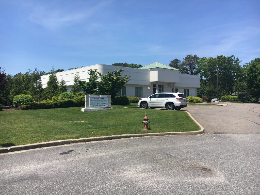 This is an image of the building where our physical therapy clinic is located. The building is in Riverhead, New York.