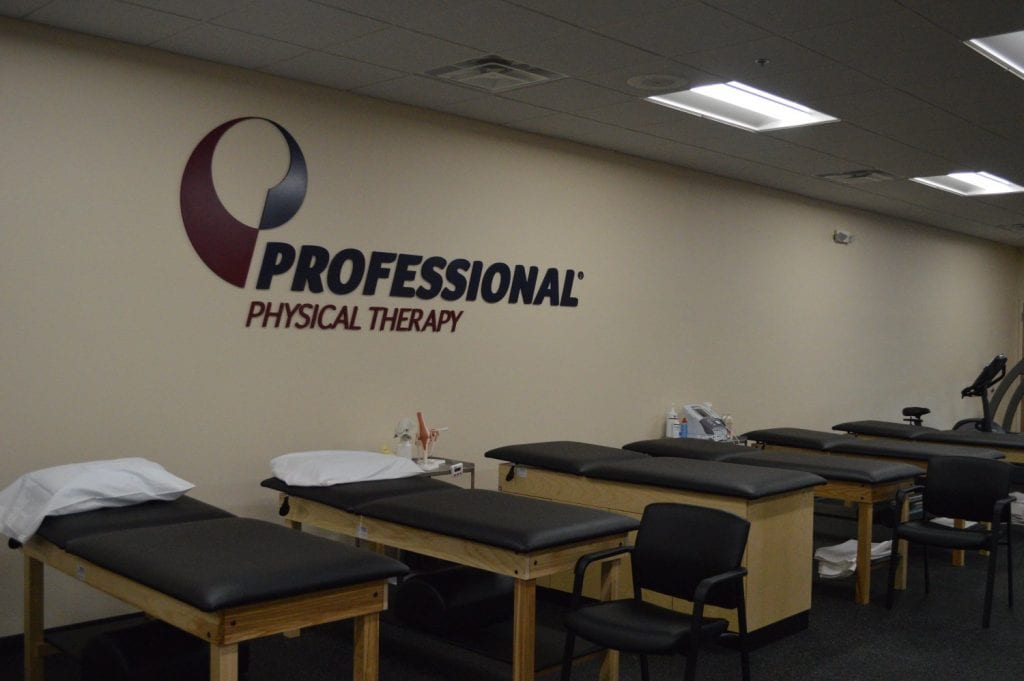 This is an image of our well maintained beds at our physical therapy clinic in Rockville Center, New York.
