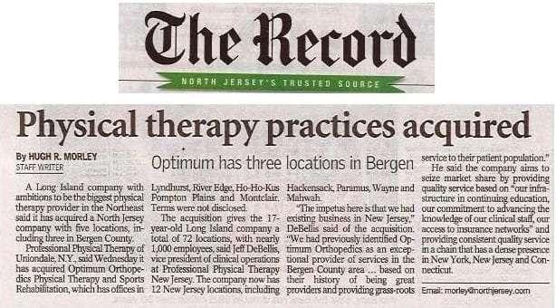 Bergen Record PPT Optimum Acquisition 3.17.16