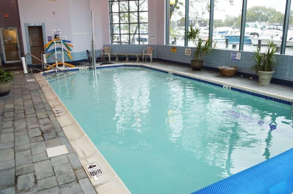 Bright pool shot
