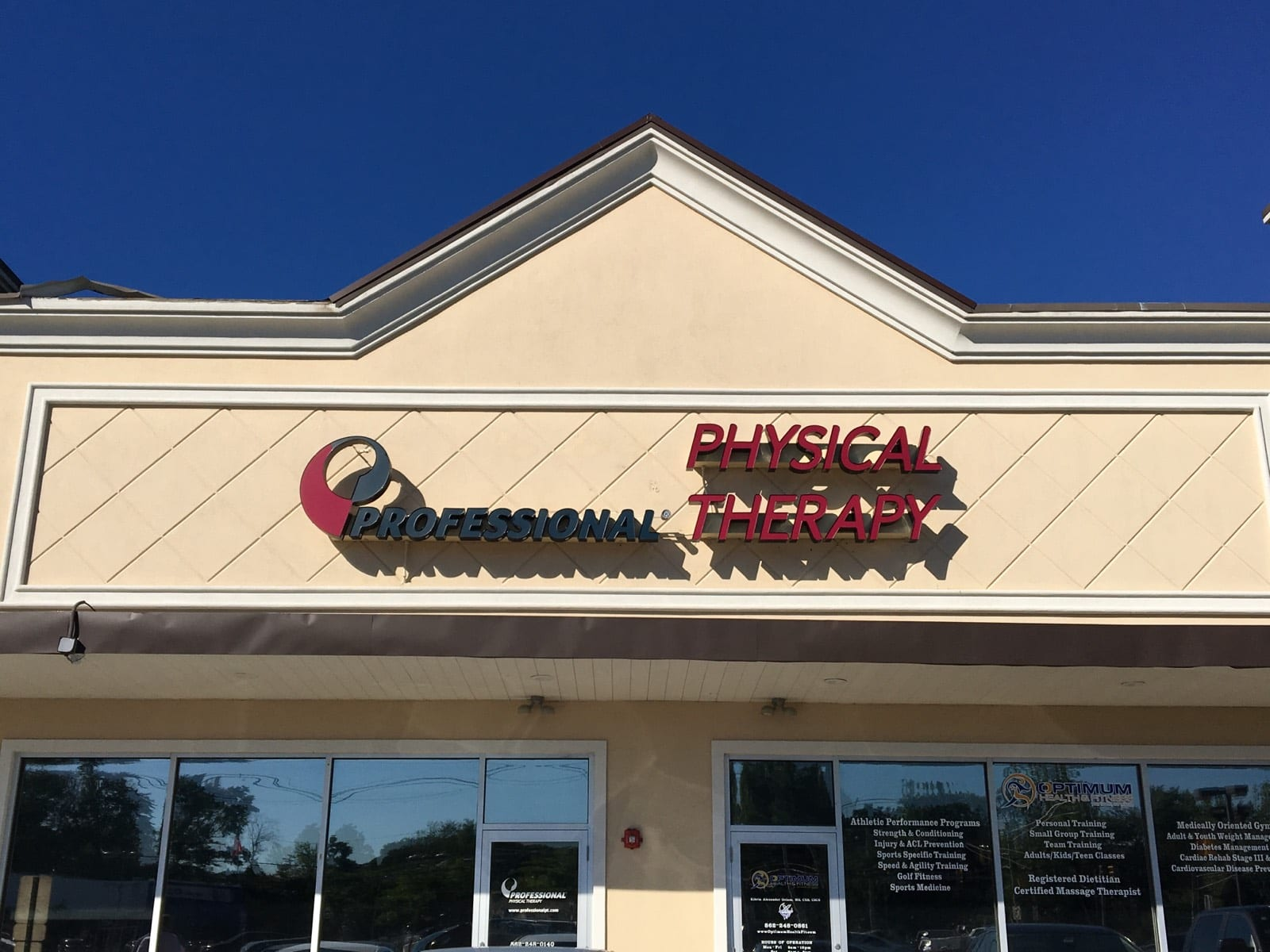 Here is an image of the exterior of our physical therapy clinic in Pompton Plains, New Jersey.
