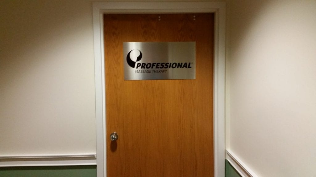An image of the door to our physical therapy clinic in Darien, Connecticut.