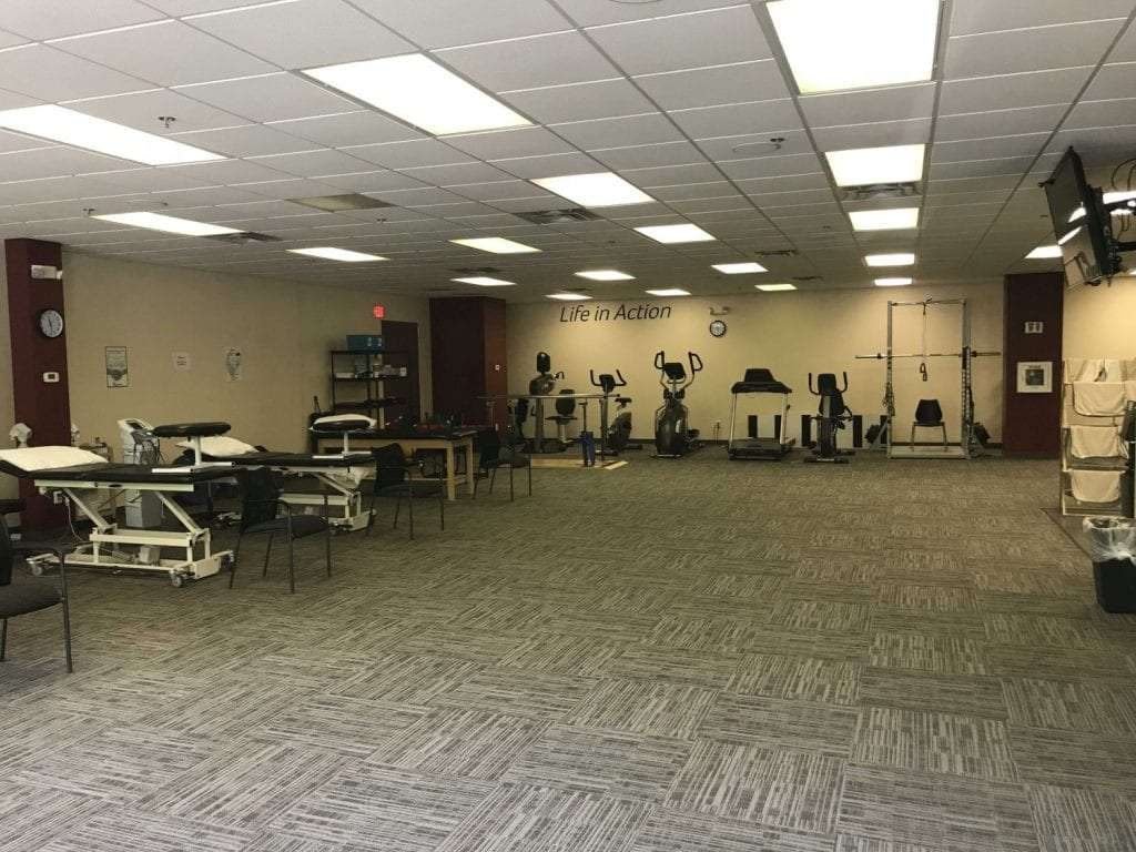 This is a photo of some of the equipment used in physical therapy at our clinic in Ridgefield, Connecticut.