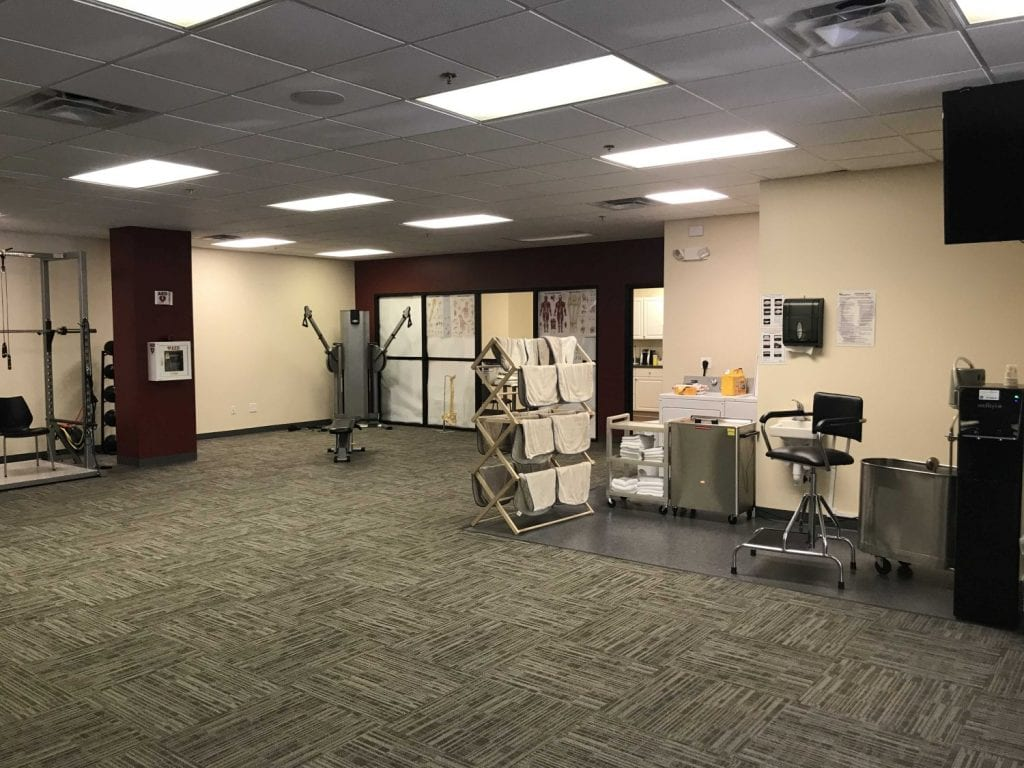 Here is an image of the inside of our Ridgefield, Connecticut physical therapy clinic.