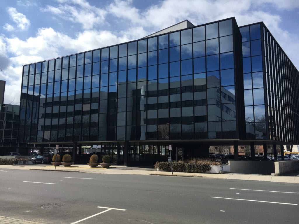 Here is the building our physical therapy clinic resides in Stamford, Connecticut.