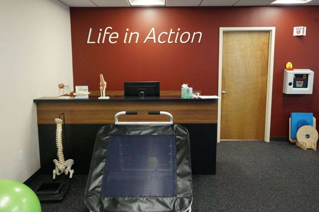 Here is an image of the interior of our Stamford, Connecticut physical therapy clinic.