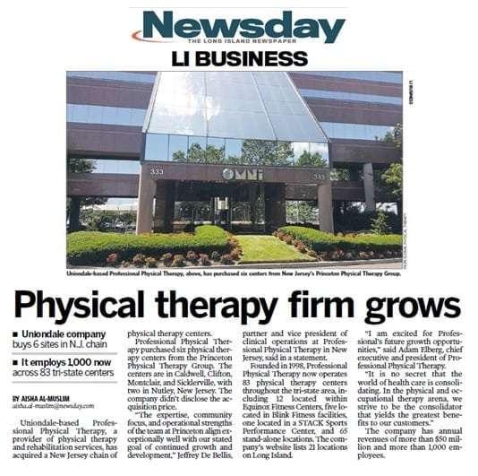 Newsday - Princeton PT article 6-24-16_2