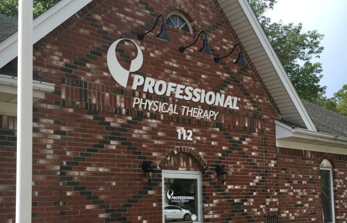 Exterior of our physical therapy and hand therapy clinic in Caldwell NJ.
