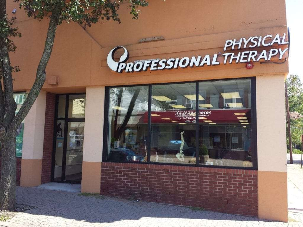 Here is an image of the exterior of our physical therapy clinic in Nutley, New Jersey at Midtown.