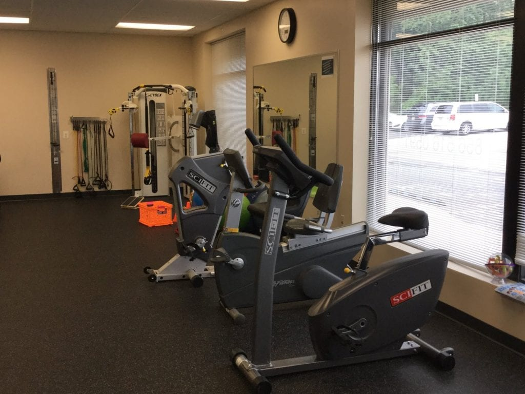 Here is an image of the equipment used in physical therapy at our clinic in Sicklerville, New Jersey.