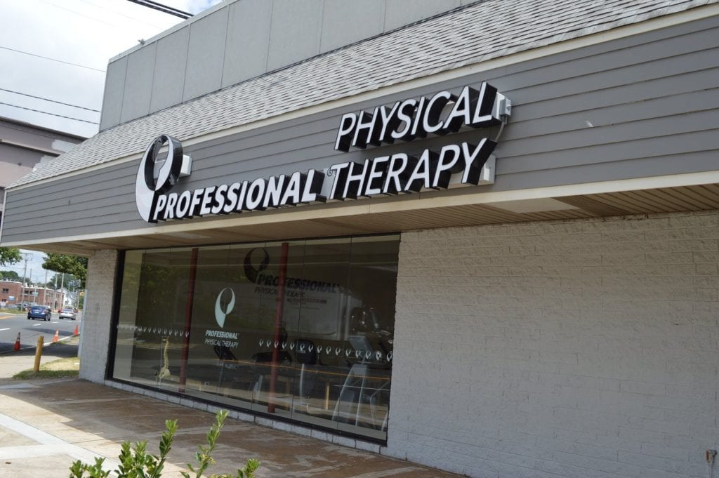 An image of the exterior of our physical therapy clinic in Hicksville, New York.