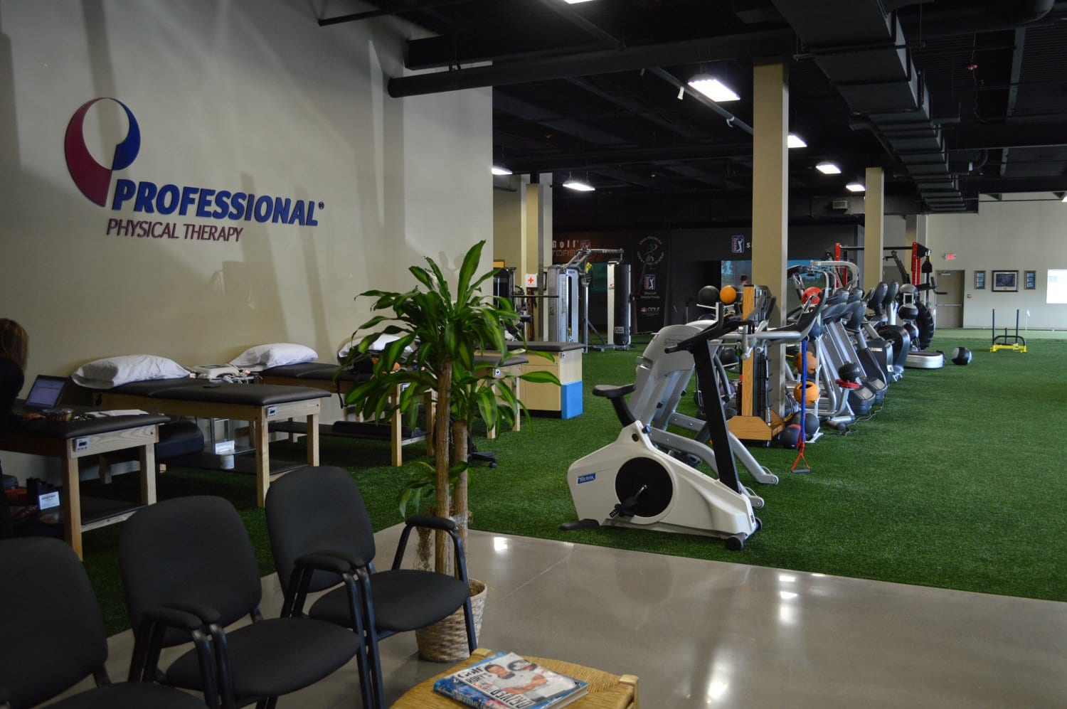 This is an image of the interior of our physical therapy clinic in Syosset, New York.