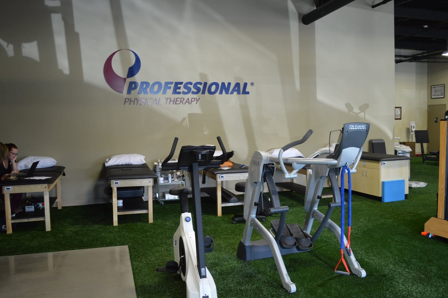 This is an image of our physical therapy clinic in Syosset, New York.