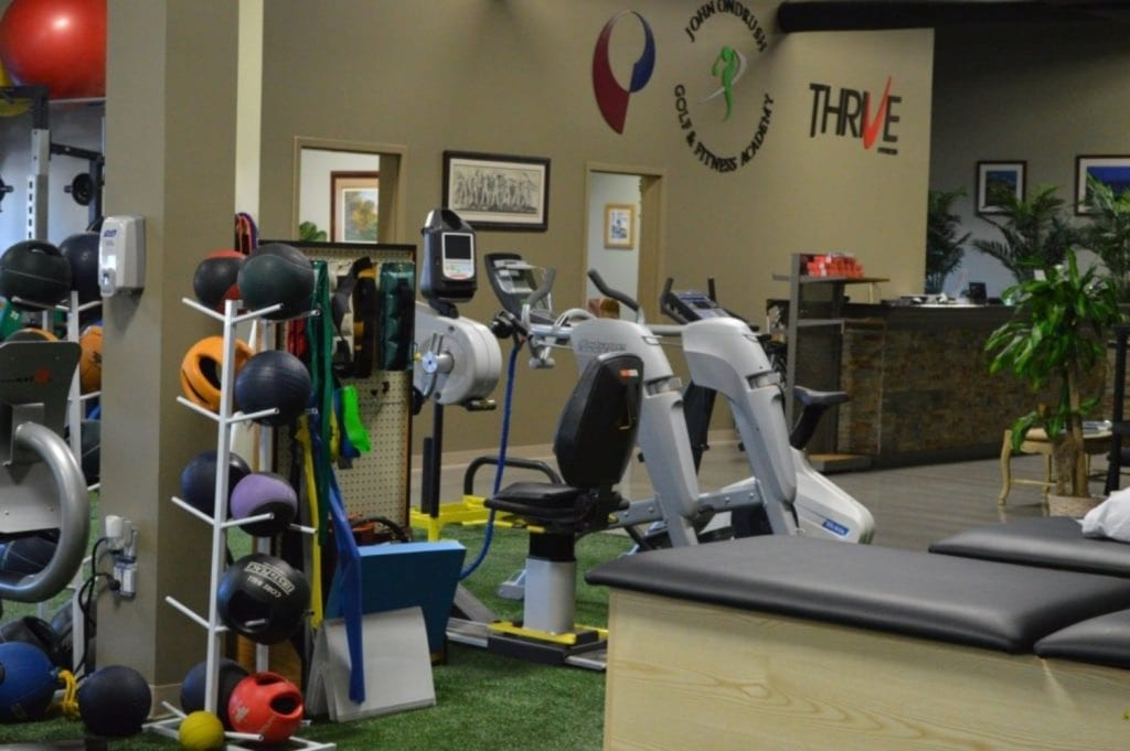 This is an image of the equipment in our physical therapy clinic in Syosset, New York.