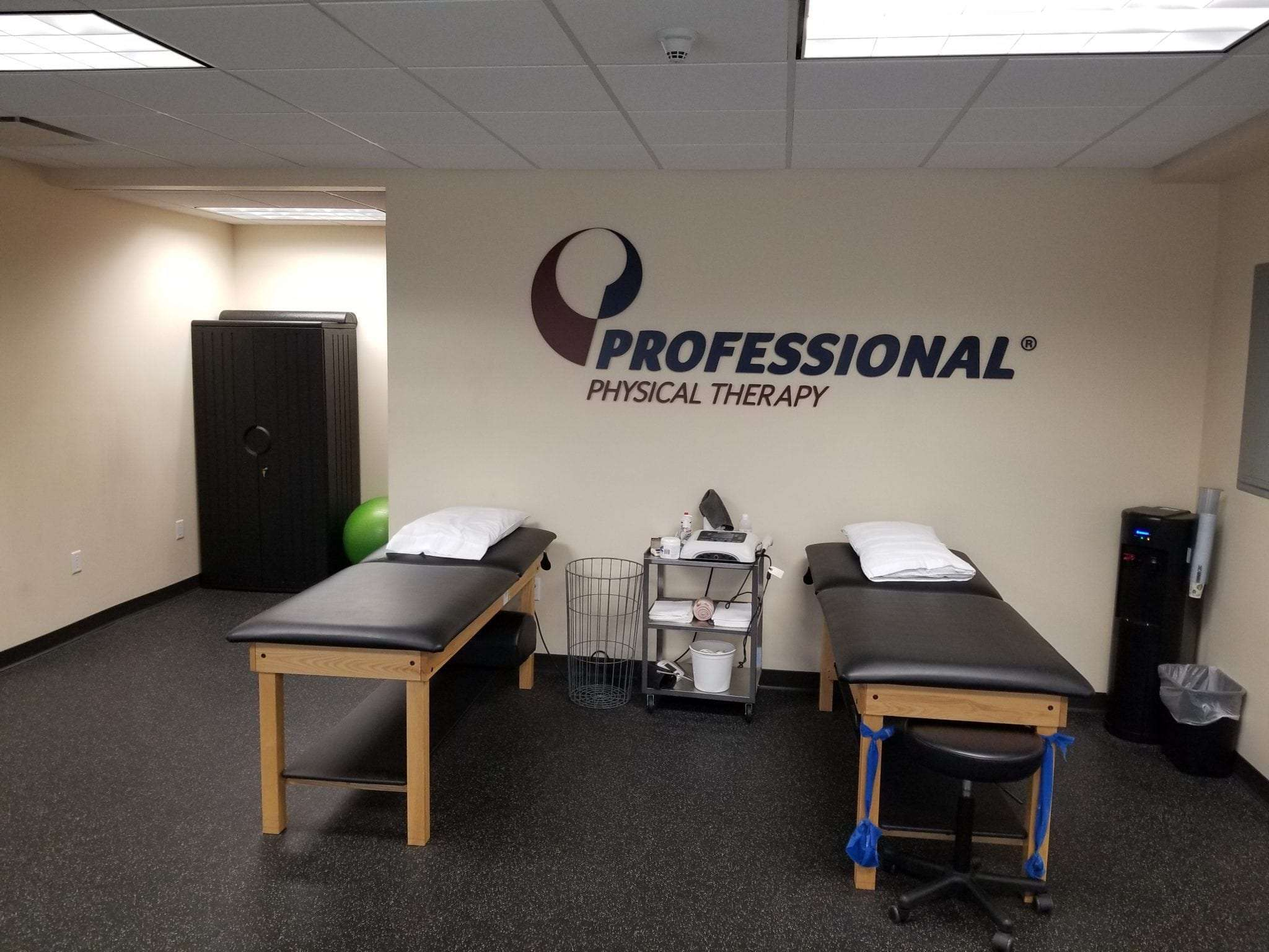 Here is a photo of two stretch beds at our physical therapy clinic in East Englewood, New Jersey.
