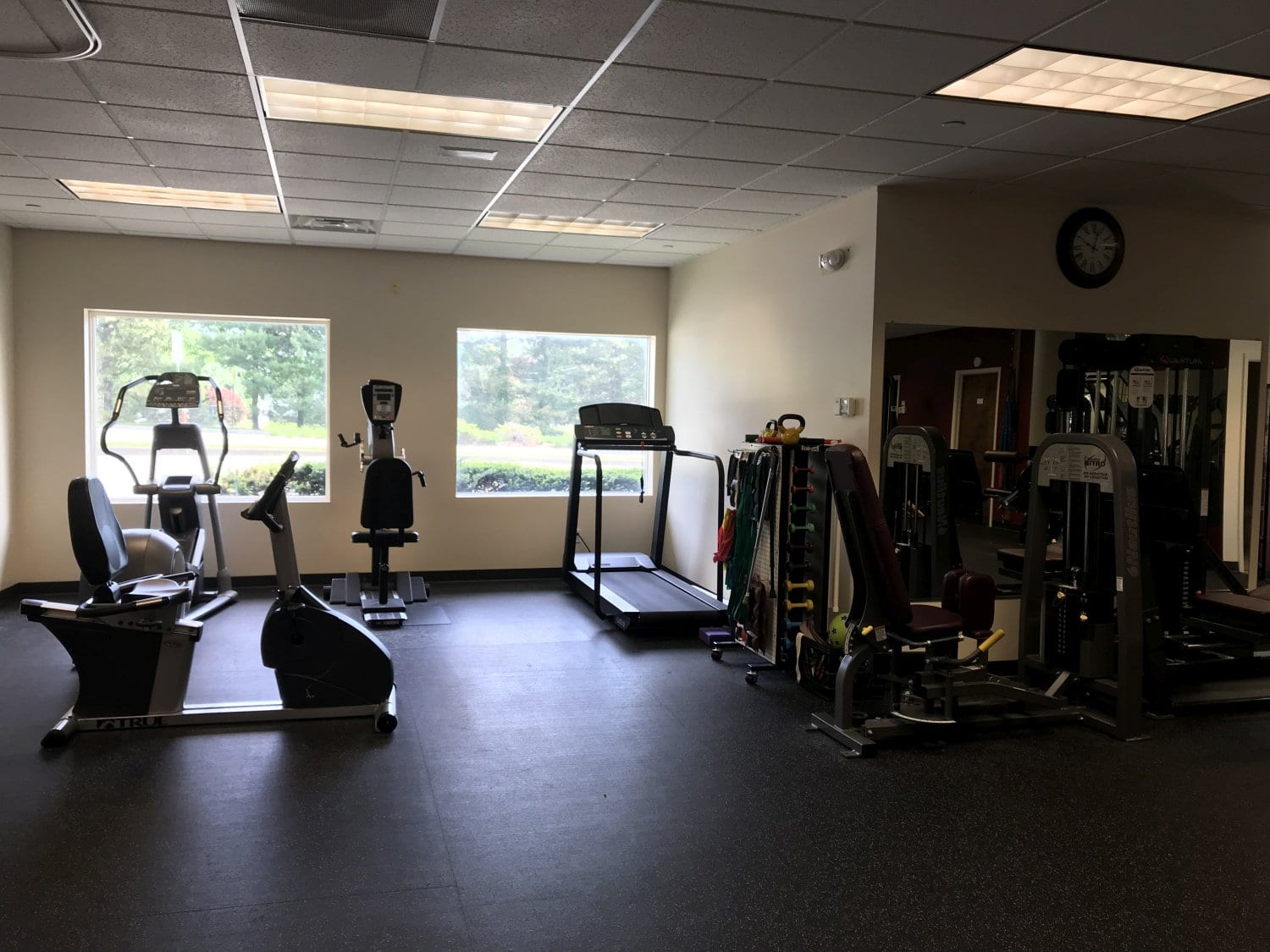An image of the interior of our physical therapy clinic in East Hanover, New Jersey.
