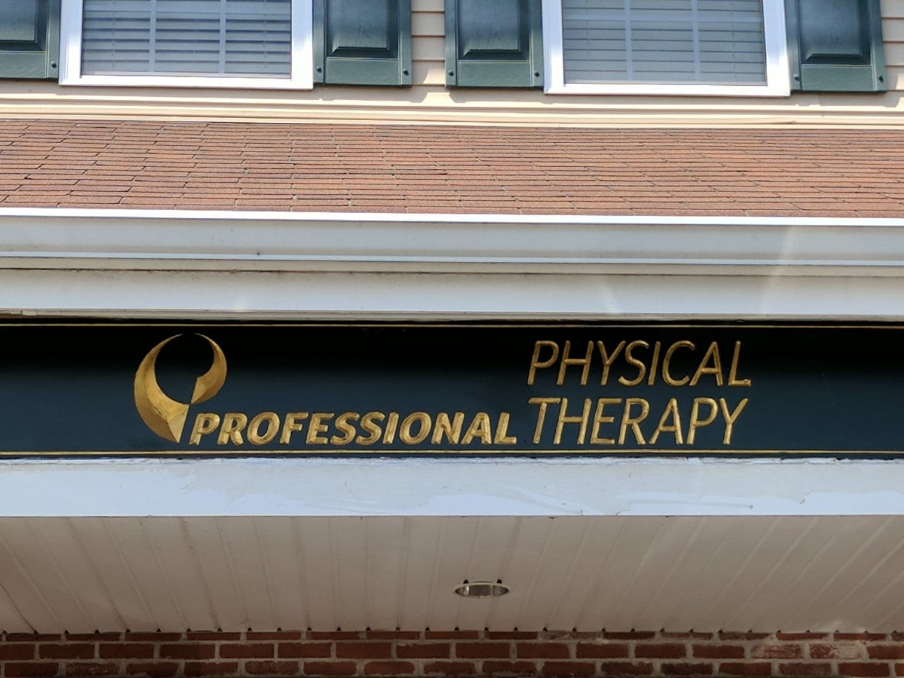 An image of our professional physical therapy sign at our clinic in Haskell, New Jersey.