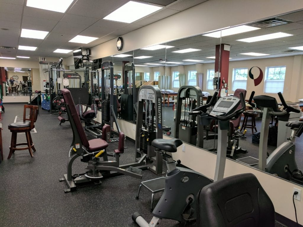 An image of some of the equipment used in physical therapy at our clinic in Haskell, New Jersey.