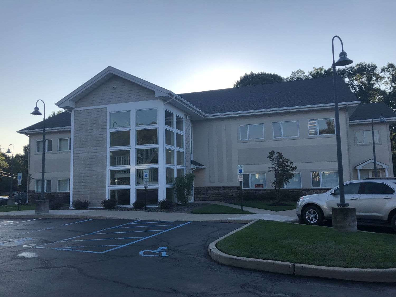 An image of the building where our physical therapy clinic is located in Hazlet, New Jersey.