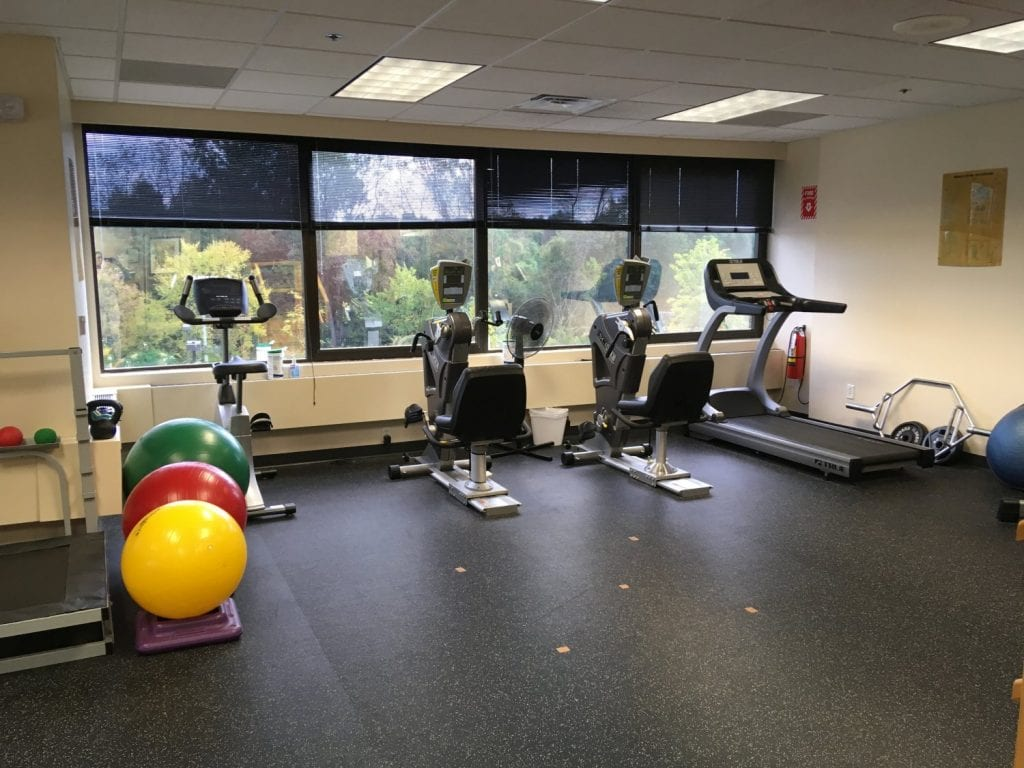 Here is an image of some of the equipment used in physical therapy at our clinic in Oradell, New Jersey.