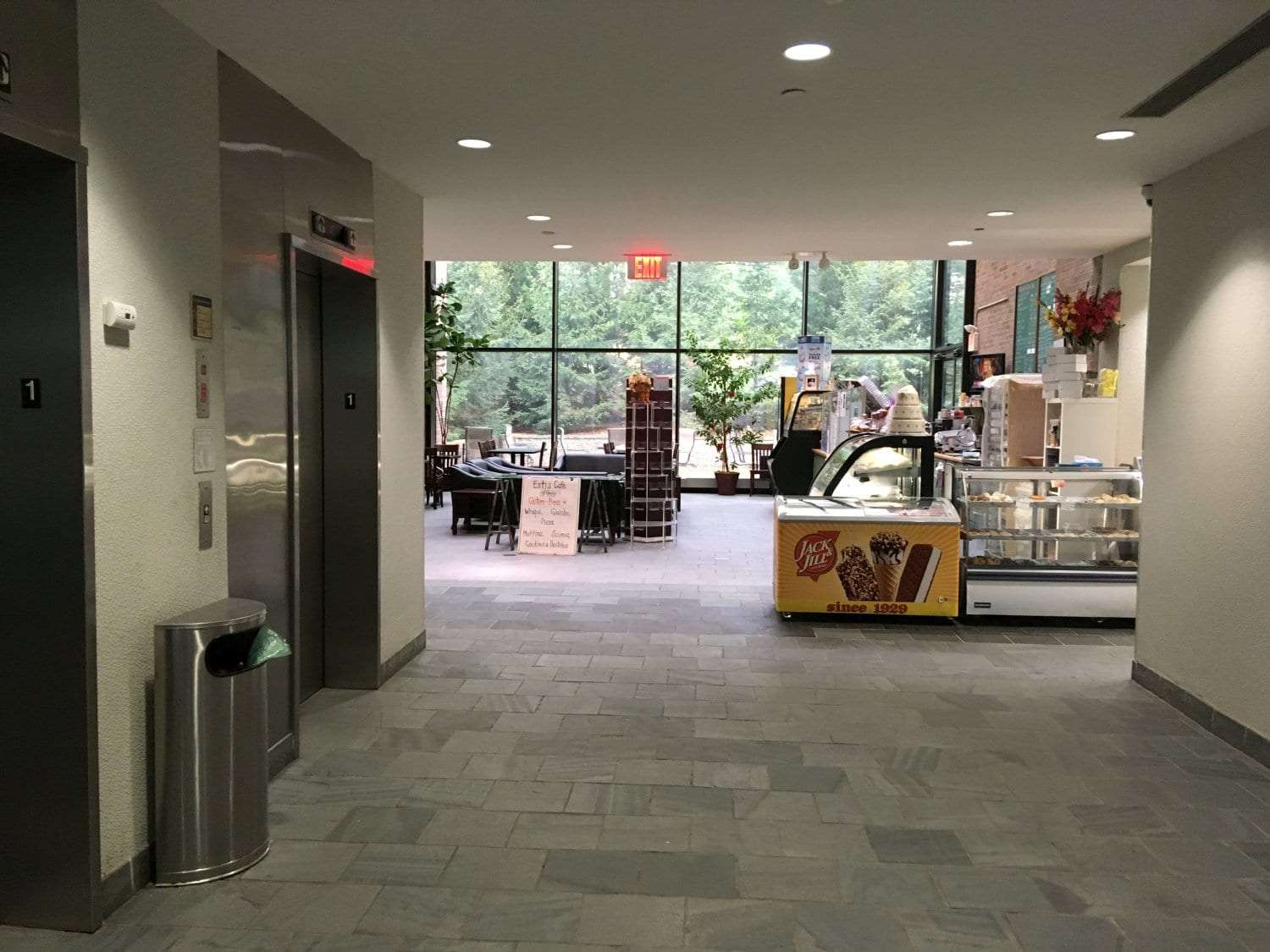 This is an image of a cafe in the same building as our physical therapy clinic in Oradell, New Jersey.
