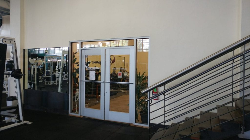 This is a phot of the entrance to our physical therapy clinic in Saddle Brook, New Jersey.