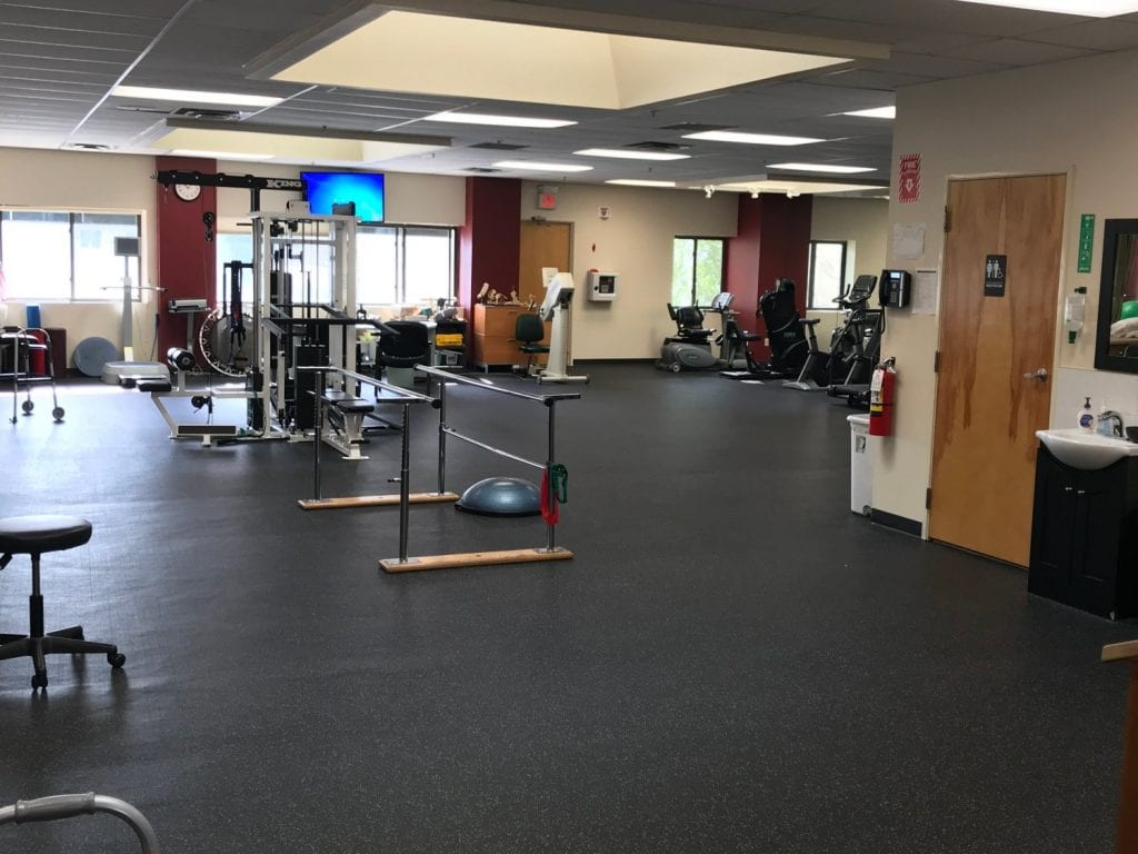 An image of the interior of our physical therapy clinic in Cliffside Park, New Jersey.