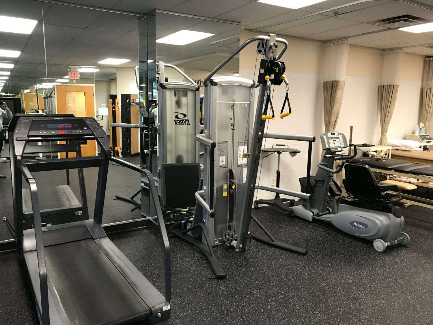 An image of equipment at our physical therapy clinic in Cliffside Park, New Jersey.