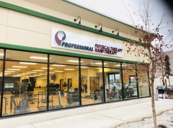 Here is an image of the exterior to our building. The sign above the building reads Physical Therapy Hand Therapy and is above the doors to our clinic in Hackensack, New Jersey on River Street.