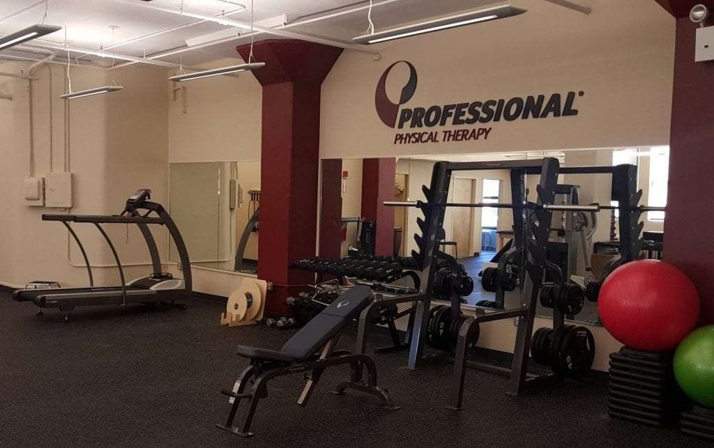 This is an image of some of the equipment used at our physical therapy clinic in Manhattan, New York City. The facility is located in midtown west on West 52nd street.