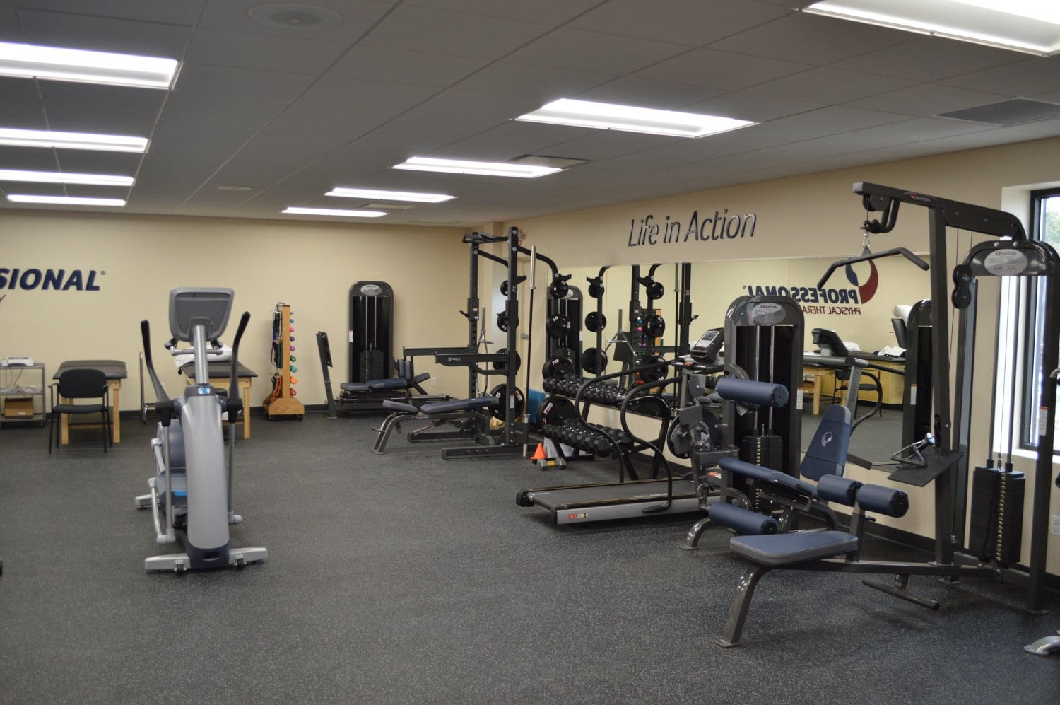 This is an image of the interior of our physical therapy clinic in Franklin Square, New York.
