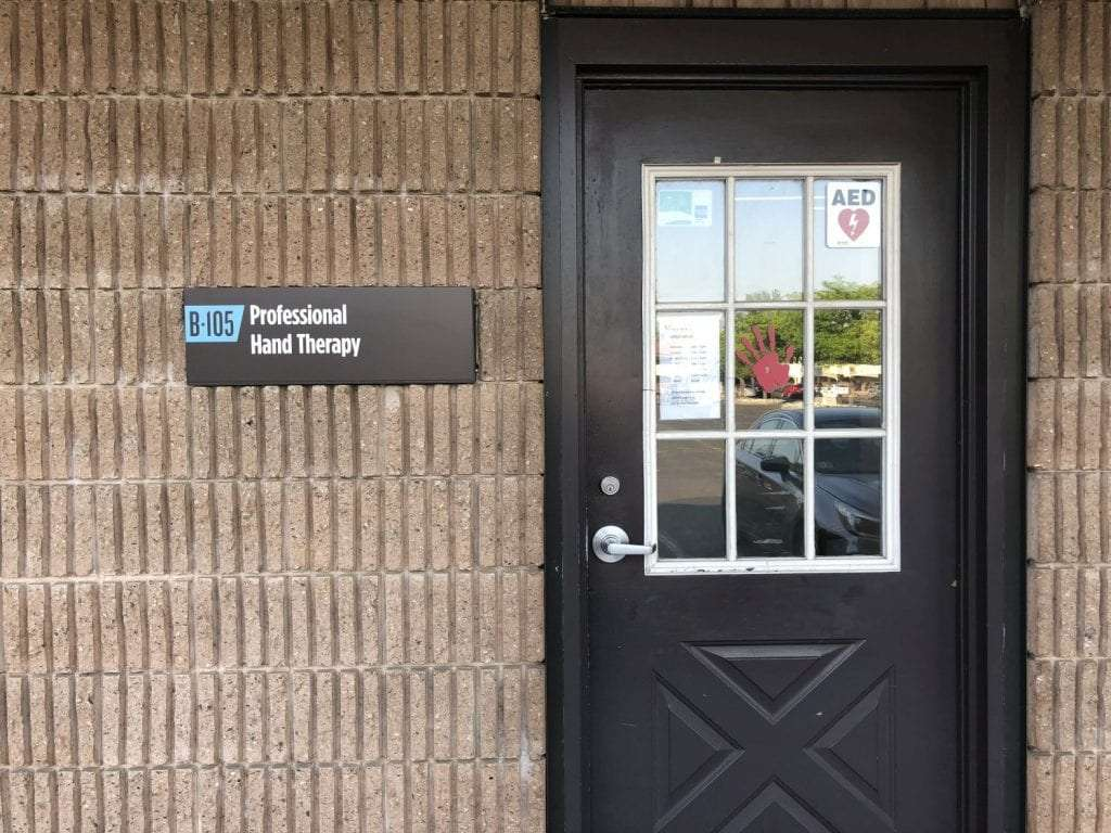 Here is an image of the door to our physical therapy clinic in Union New Jersey.