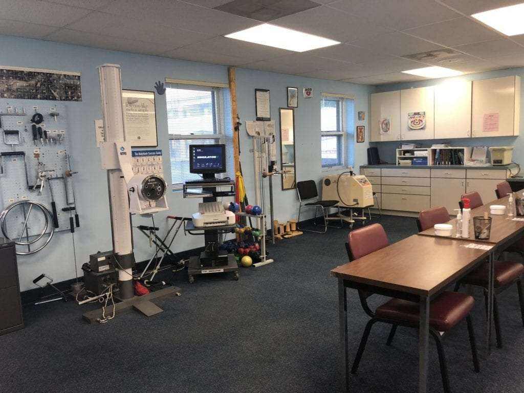 This is a photo of the inside of our Union, New Jersey physical therapy clinic.