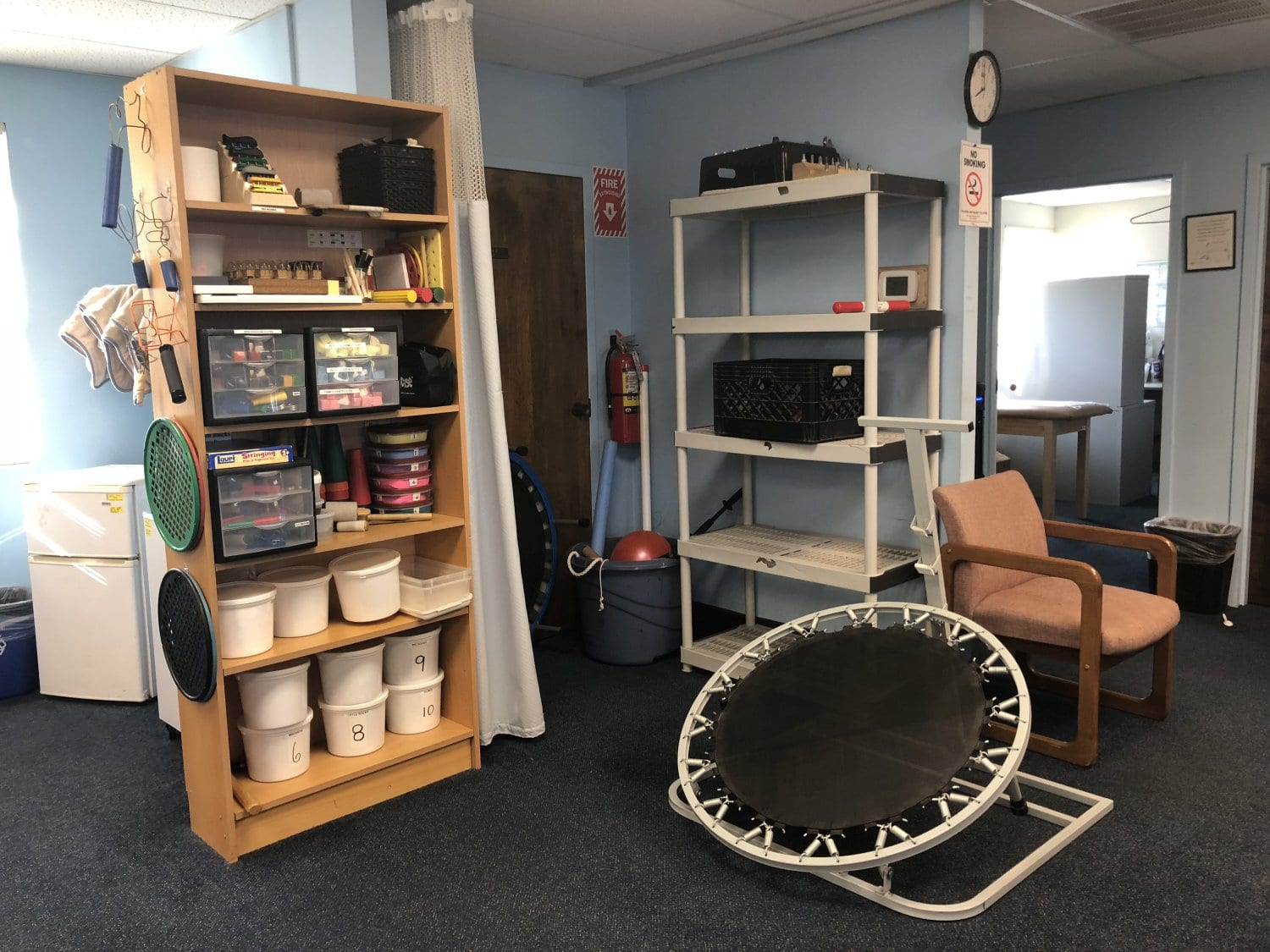 Here is an image of the interior of our Union, New Jersey physical therapy clinic.