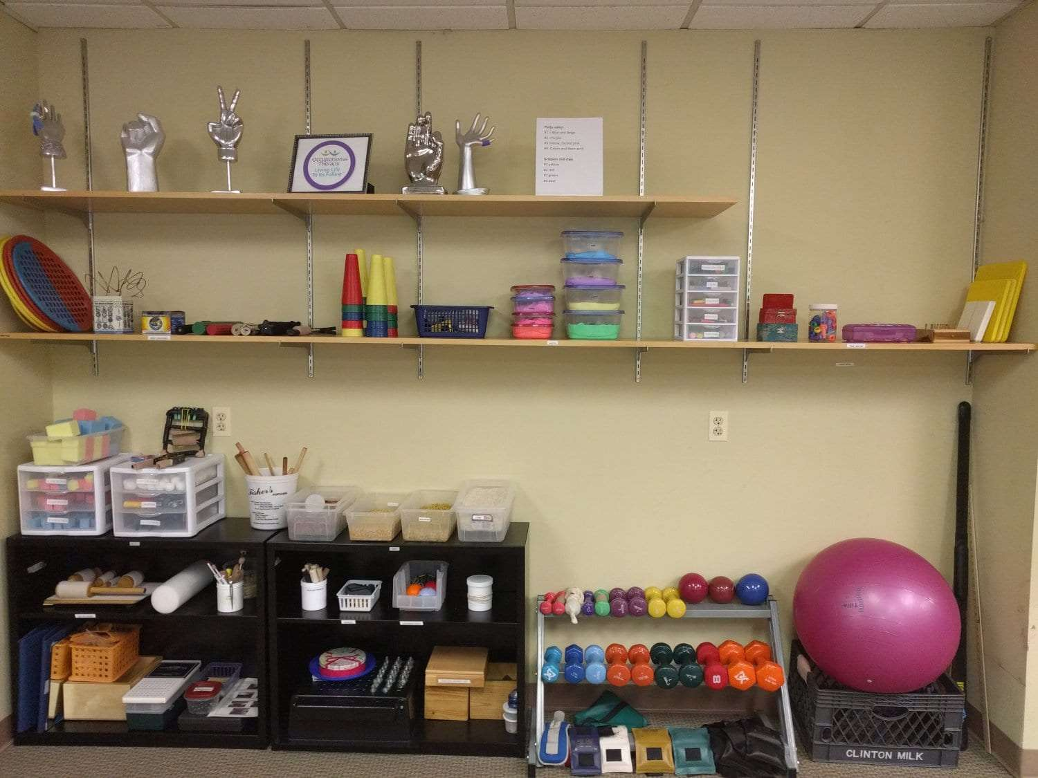 This is a shot of some of the equipment used at our physical therapy clinic in West Orange New Jersey.