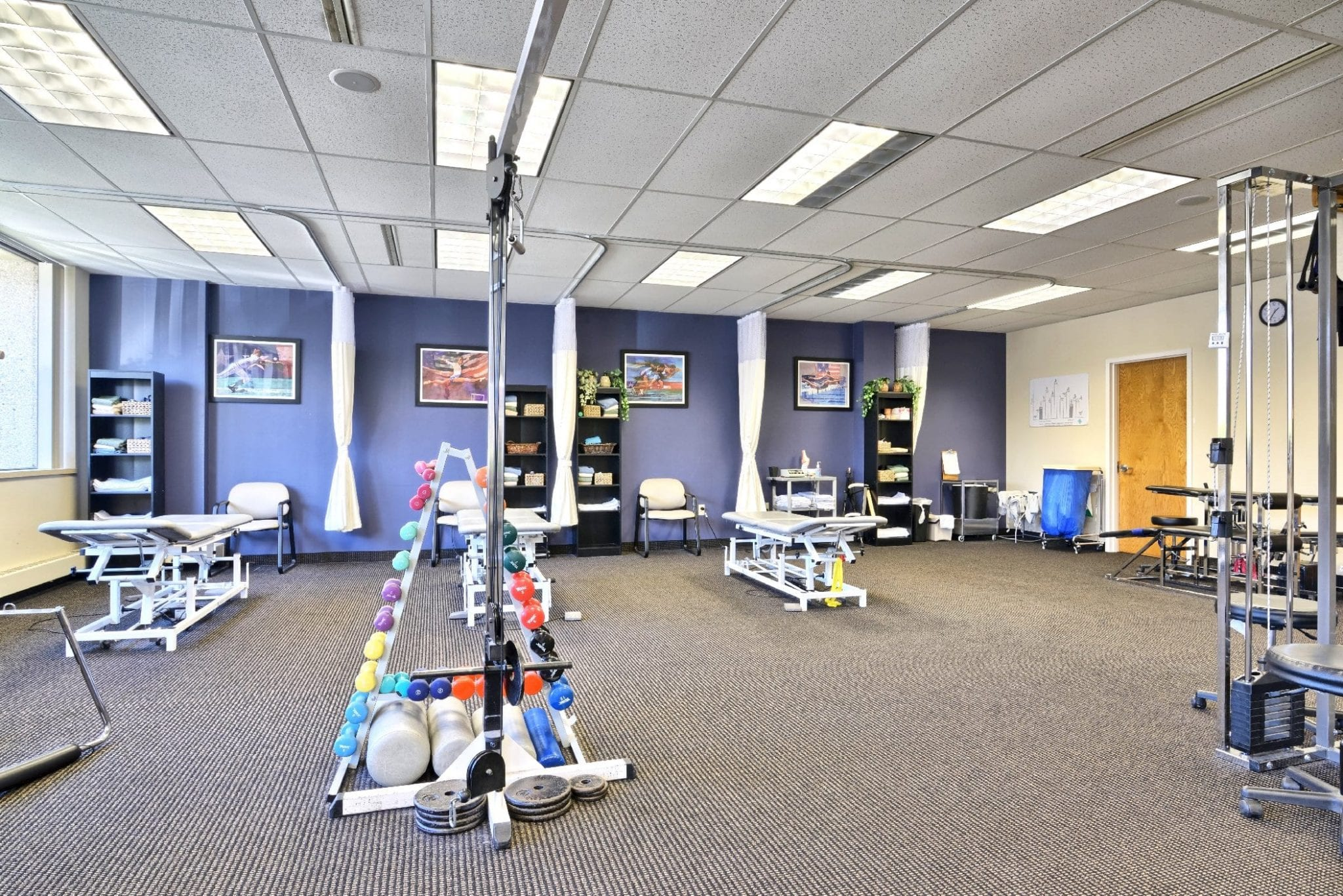 An image of the equipment used in physical therapy at our clinic in Farmington, Connecticut.