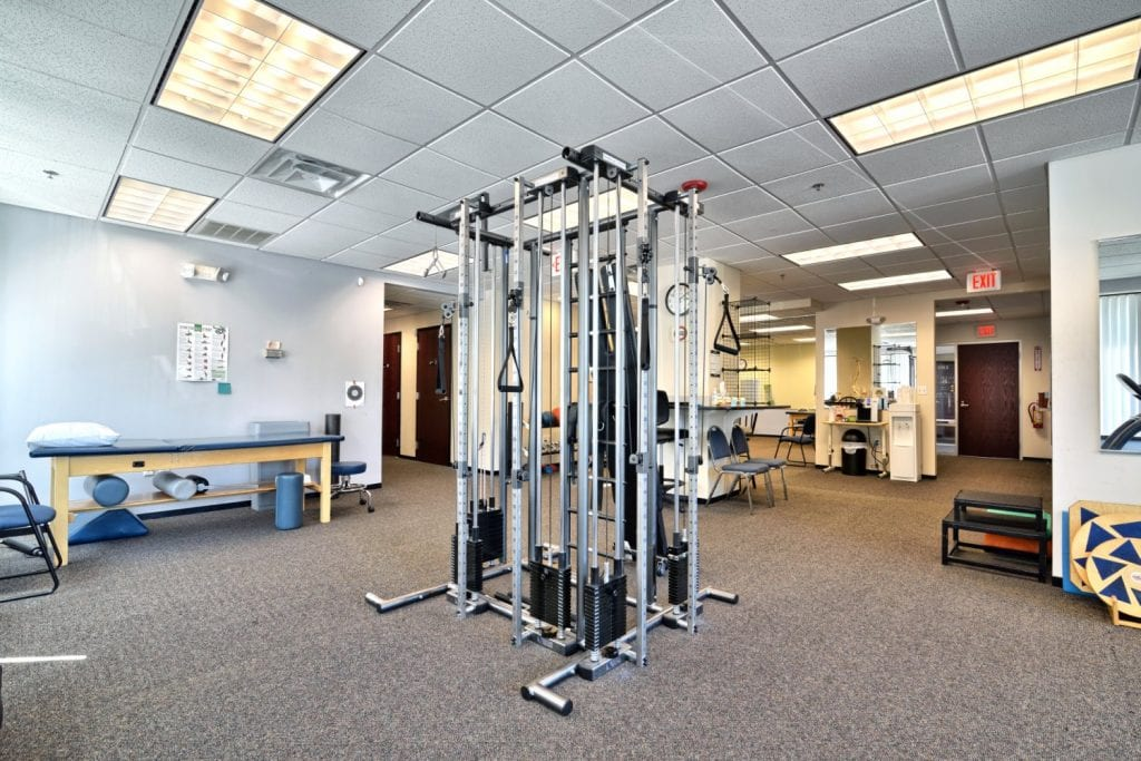 An image of one of the machines at our physial therapy clinic in Beverly, Massachusetts.