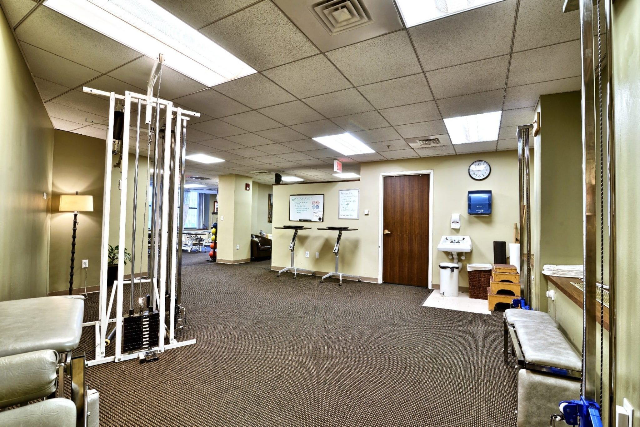 Here is an image of the inside of our physical therapy clinic in Boston, Massachusetts.